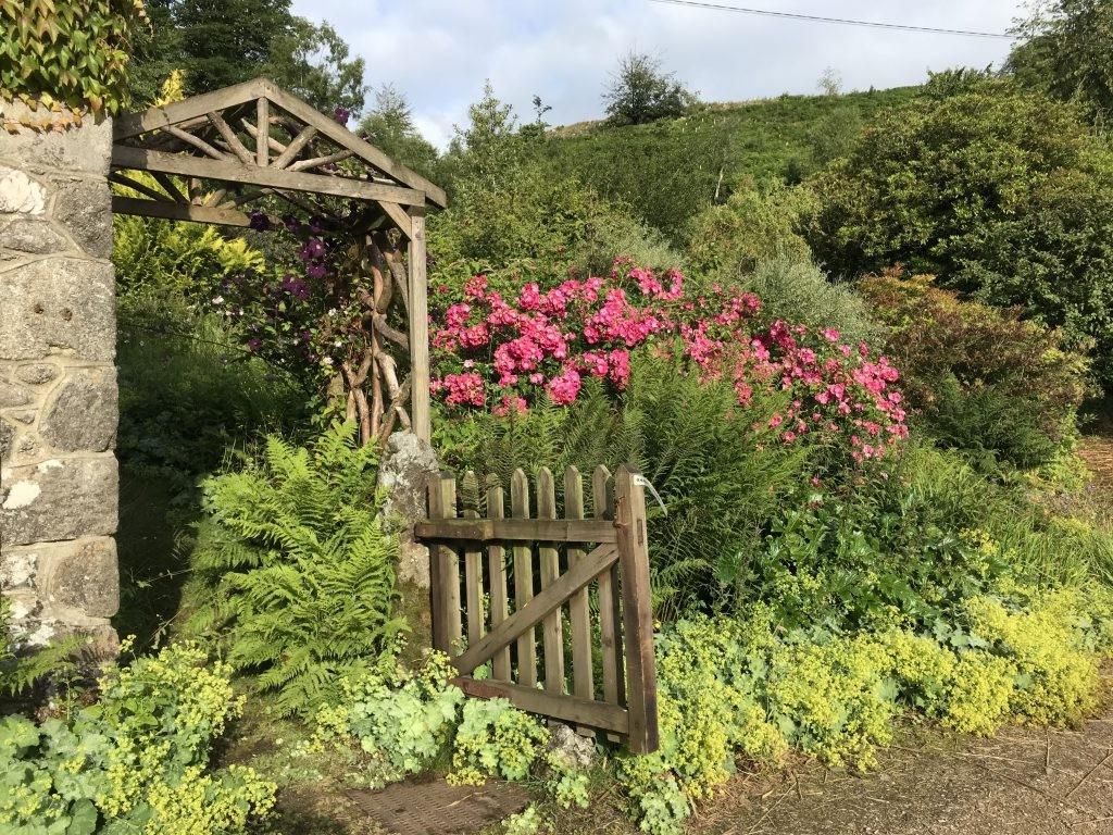 The Gate to the Barn Garden